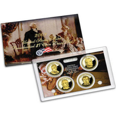 2009S 4-Piece Presidential Proof Set