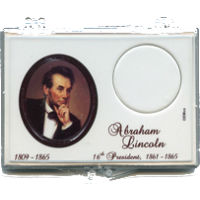 Marcus 2010 $1 Lincoln Coin Holder