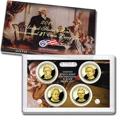 2010S 4-Piece Presidential Proof Set