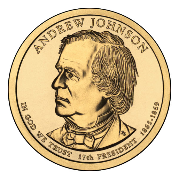 2011D $1 Johnson 25-Coin Roll