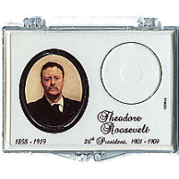 Marcus 2013 $1 T. Roosevelt Coin Holder