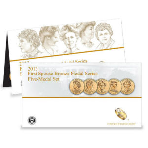 2013-first-spouse-bronze-4-medal-set