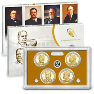 2013S 4-Piece Presidential Proof Set