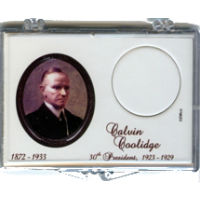 Marcus 2014 $1 Coolidge Coin Holder