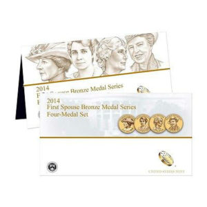 2014-first-spouse-bronze-4-medal-set