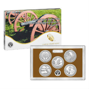 2015S 5-piece quarter Proof set