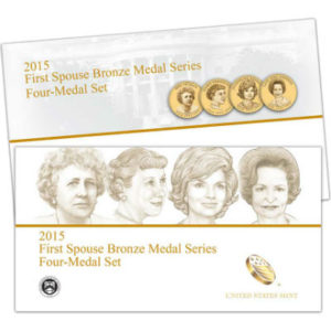 2015-first-spouse-bronze-4-medal-set