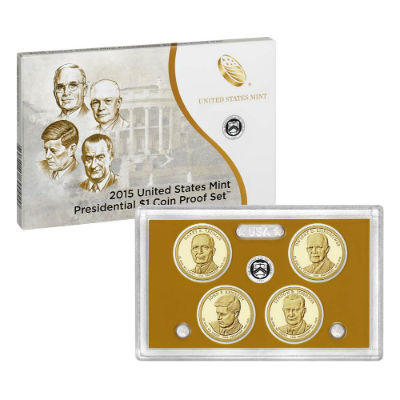 2015S 4-Piece Presidential Proof Set