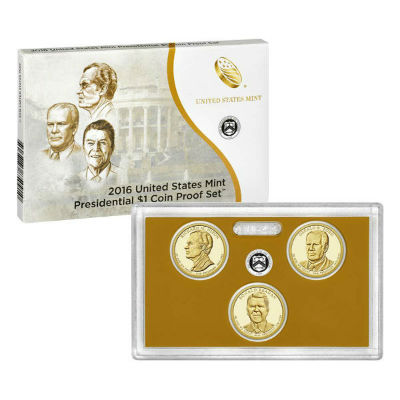 2016S 3-Piece Presidential Proof Set