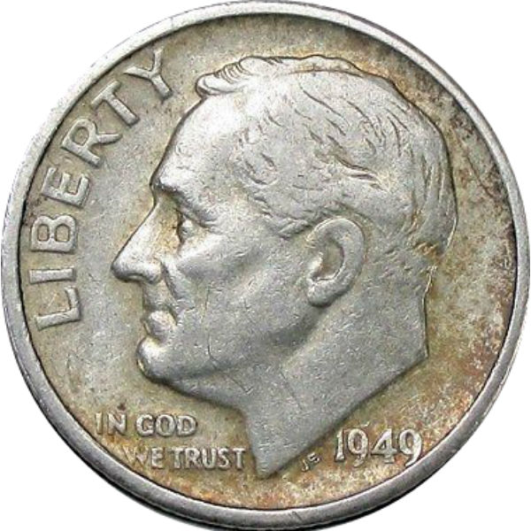 Roosevelt Dime Roll 1946 1964 Cointown