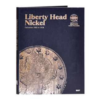 Whitman Liberty Head Nickels Folder (1883-1912)