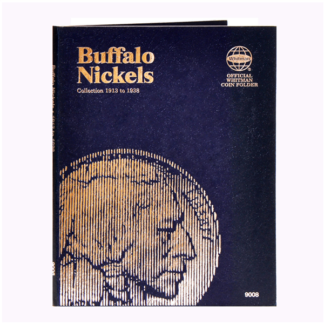 Whitman Buffalo Nickels Folder (1913-1938)