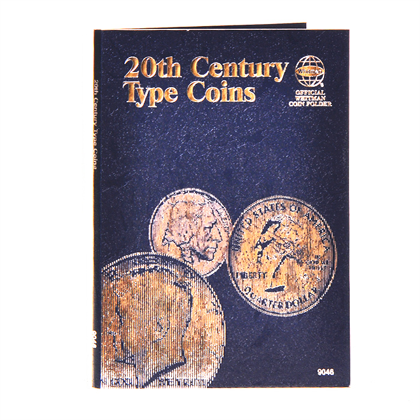 20th century type coins official whitman coin folder