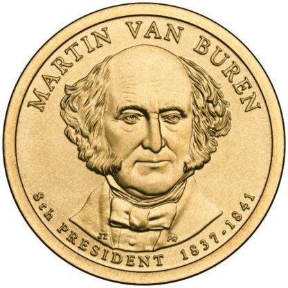 2008P $1 Van Buren 25-Coin Roll