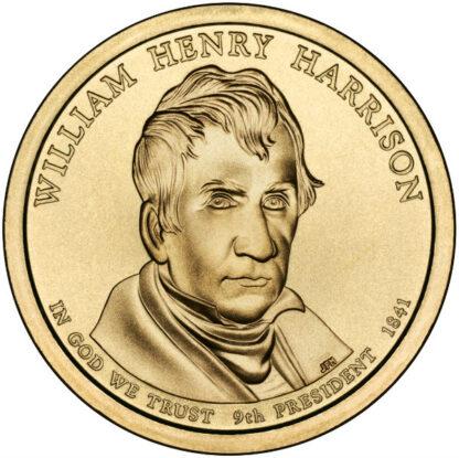 2009P $1 W.H. Harrison 25-Coin Roll