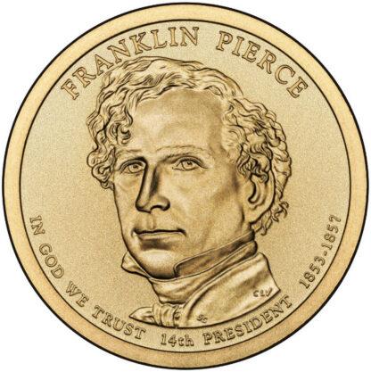 2010P $1 Pierce 25-Coin Roll