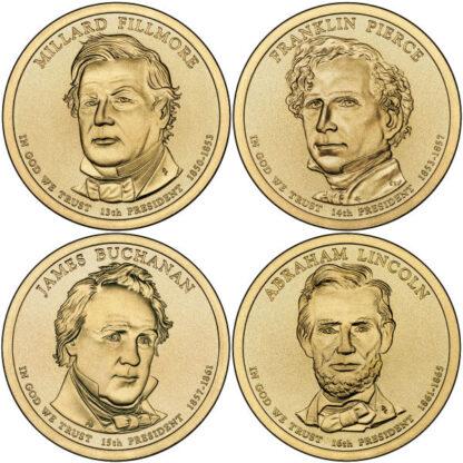 2010P $1 Presidential 4-Coin Set