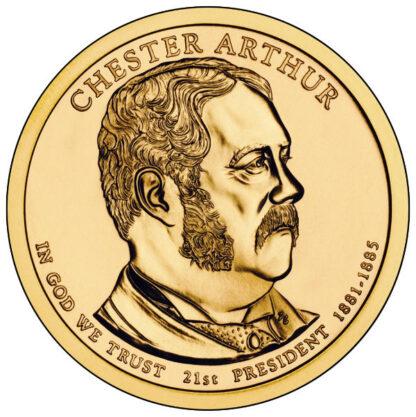 2012D $1 Arthur 25-Coin Roll