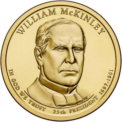2013D $1 McKinley 25-Coin Roll