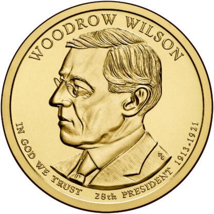 2013P $1 Wilson 25-Coin Roll