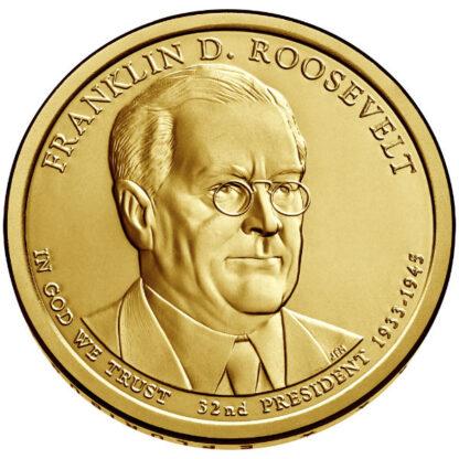 2014P $1 Roosevelt