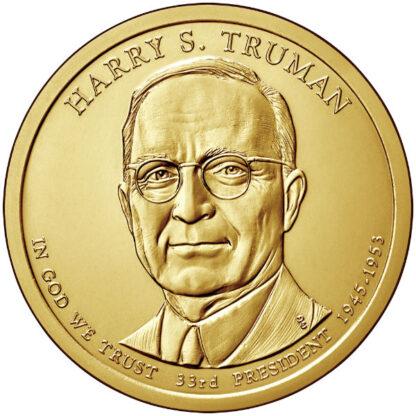 2015P $1 Truman 25-Coin Roll