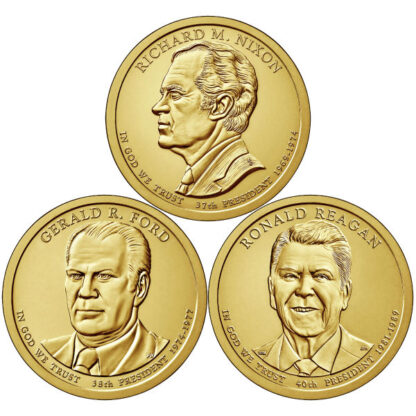 2016P $1 Presidential 3-Coin Set