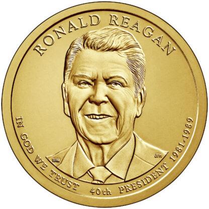 2016D $1 Reagan 25-Coin Roll