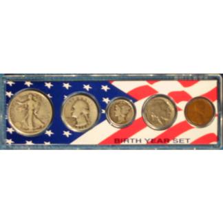 Birth Year Coin Sets